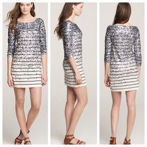 Jcrew confetti sequin sweater dress